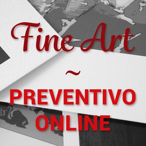 preventivo stampa fine art