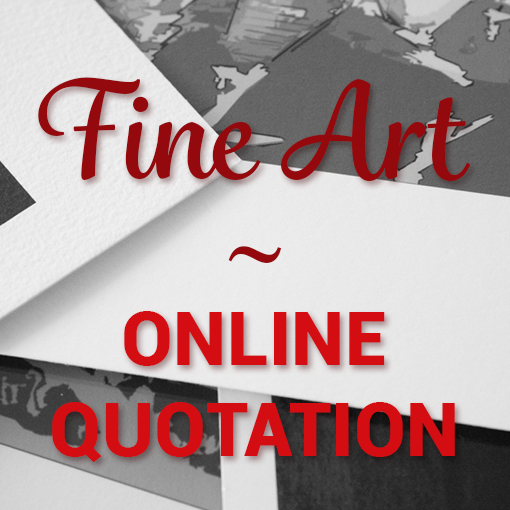 fine art print online quote